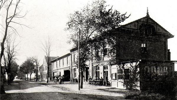 Einst erstes Hotel am Platz