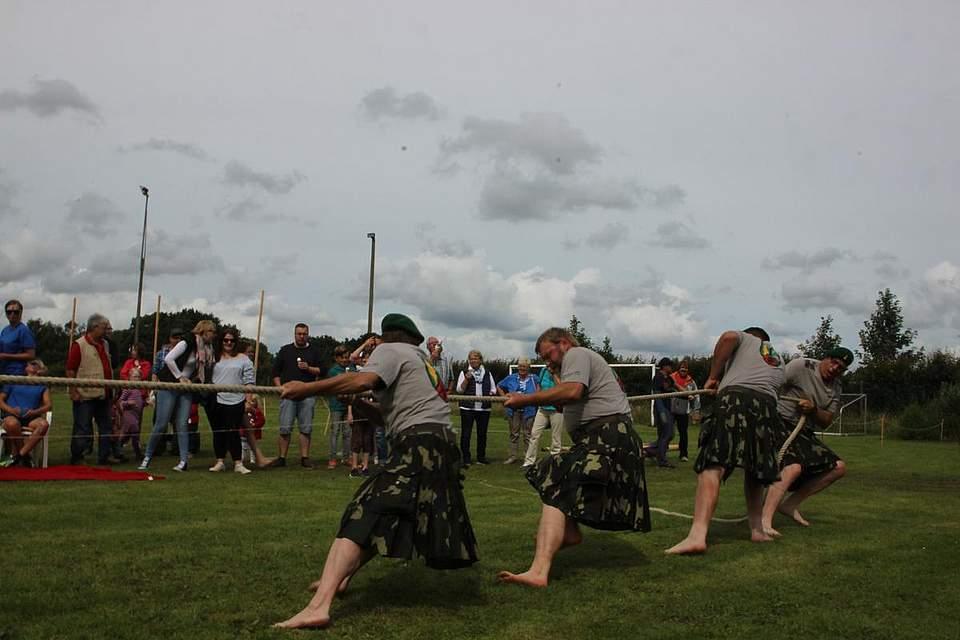 Highland-Games 2016 in Wrohm. Foto: Hajek