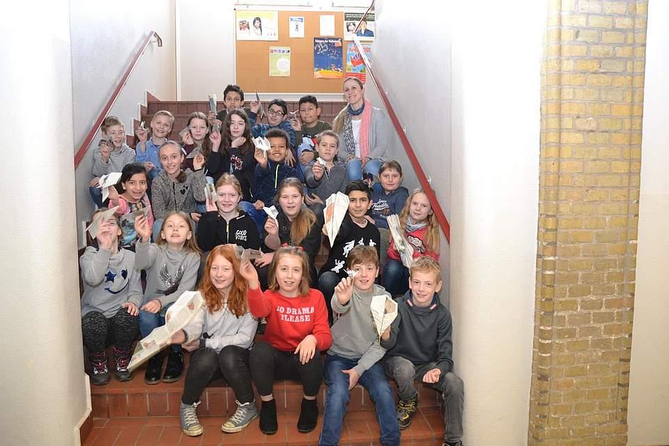 Grundschule Lüttenheid, Klasse 4a