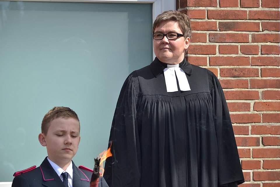 Pastorin Ina Brinkmann.