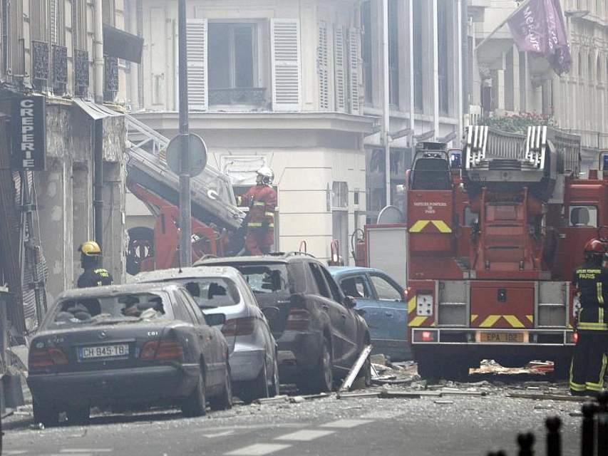 Im Zentrum von Paris hat es am Morgen eine Explosion gegeben. Foto: Kamil Zihnioglu/AP