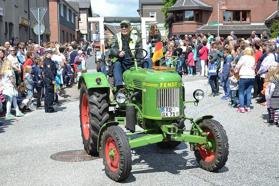 Betagte Traktoren