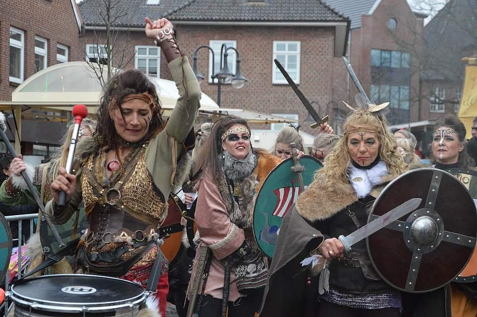 Frauenpower bei den Dithländern.