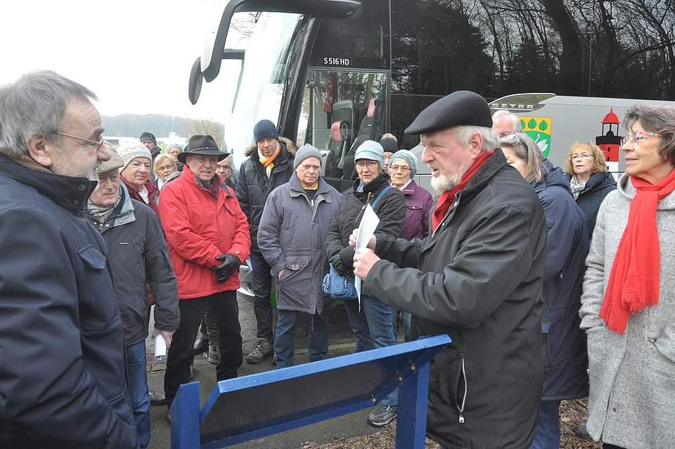 Schwarze-Garde-Tour von Boyens Medien am 17. Februar 2018. Foto: Höfer