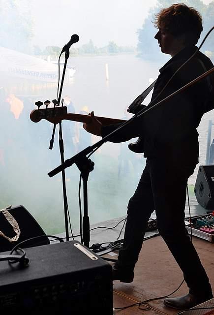 Rock an der Eider in Süderstapel. Foto: Gesine Groll