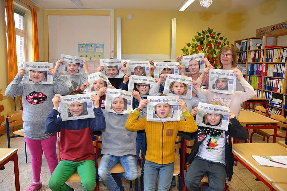 Grundschule Schafstedt Klasse 3