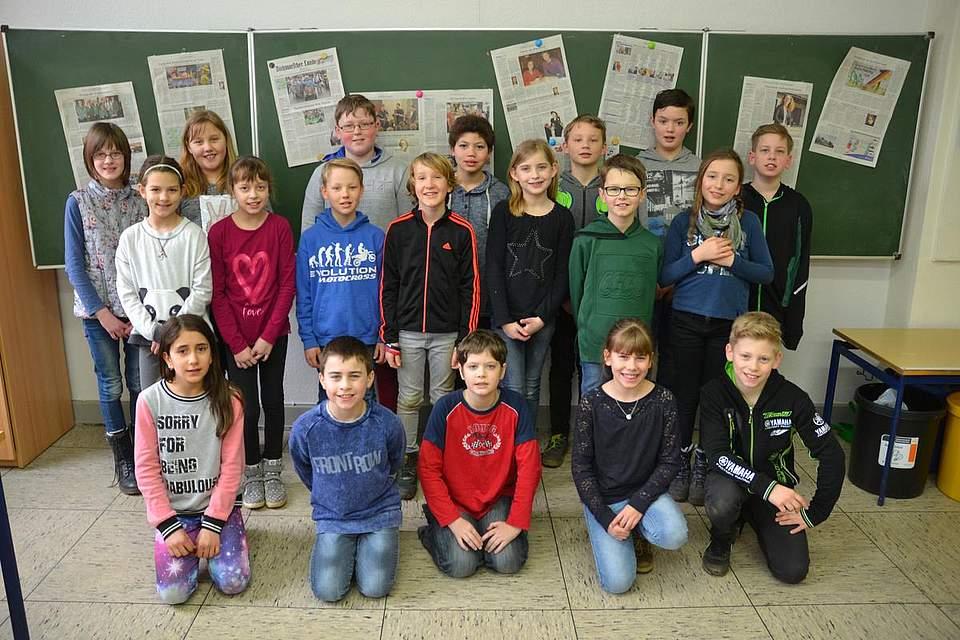 Wulf-Isebrand-Schule Albersdorf, Klasse 4b