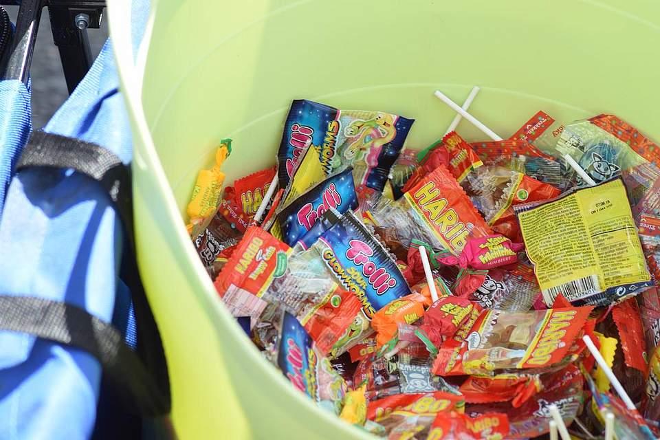 Bonbons, Bonbons, Bonbons. Foto: Büsing