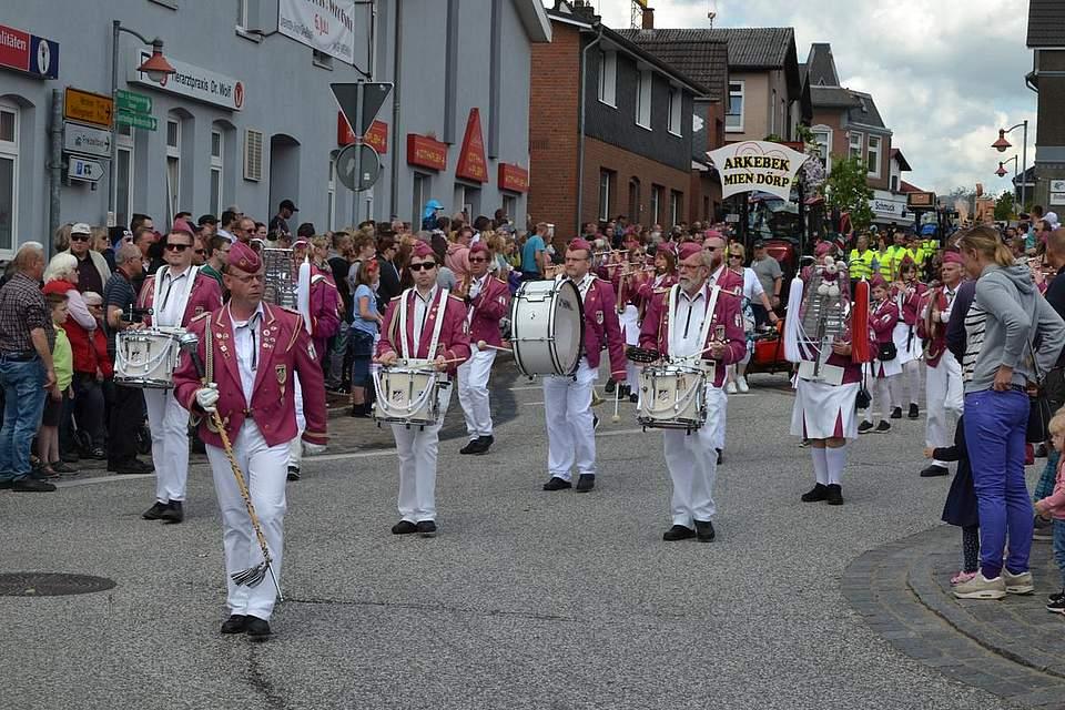 Musikzug des TSV Nordhastedt