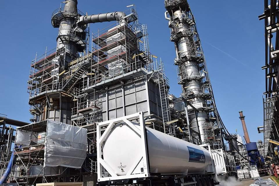 Raffinerie Heide Foto: Kirchner