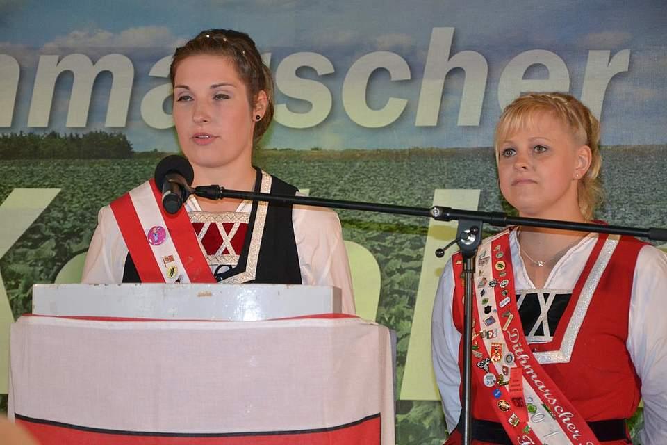 Die Kohlregentinnen Maren I. und Freia I.