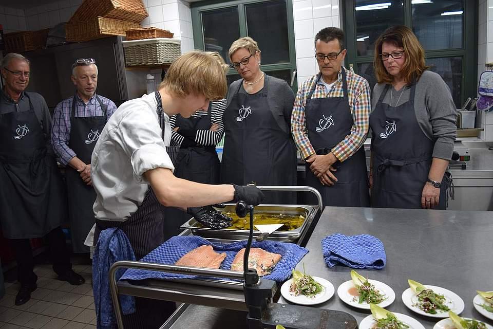 Küchenparty auf Gut Apeldör