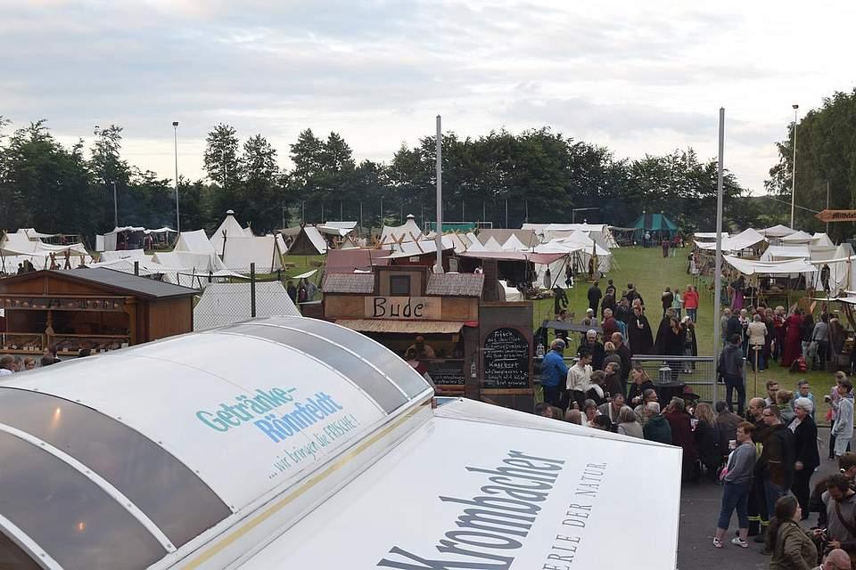 Schalkholzer Mittelalter-Spektakel 2016. Foto: Büsing