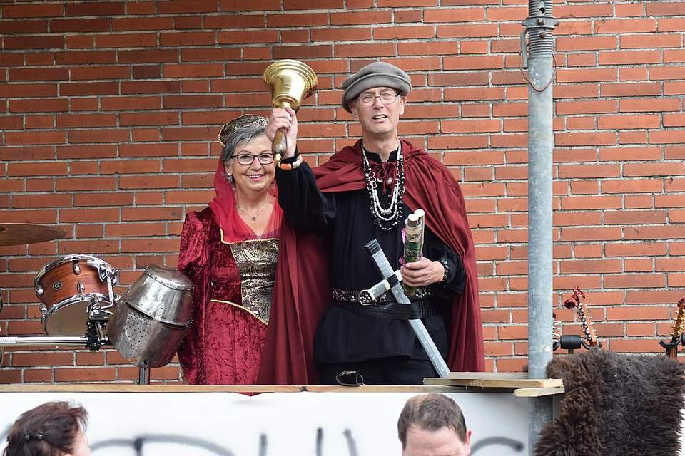 Mittelalter-Spektakel 2016. Foto: Büsing