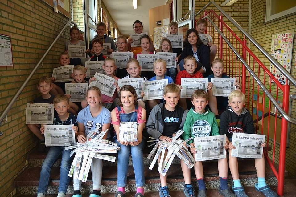 Grundschule Bargenstedt, Klasse 4