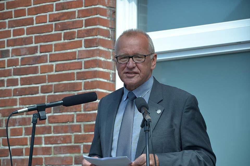 Stellvertretender Kreispräsident Norbert Zimmermann.