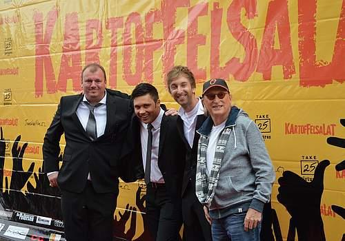 Die Macher: Produzent Hauke Schlichting, Regisseur Michael Pate, Freshtorge und Otto