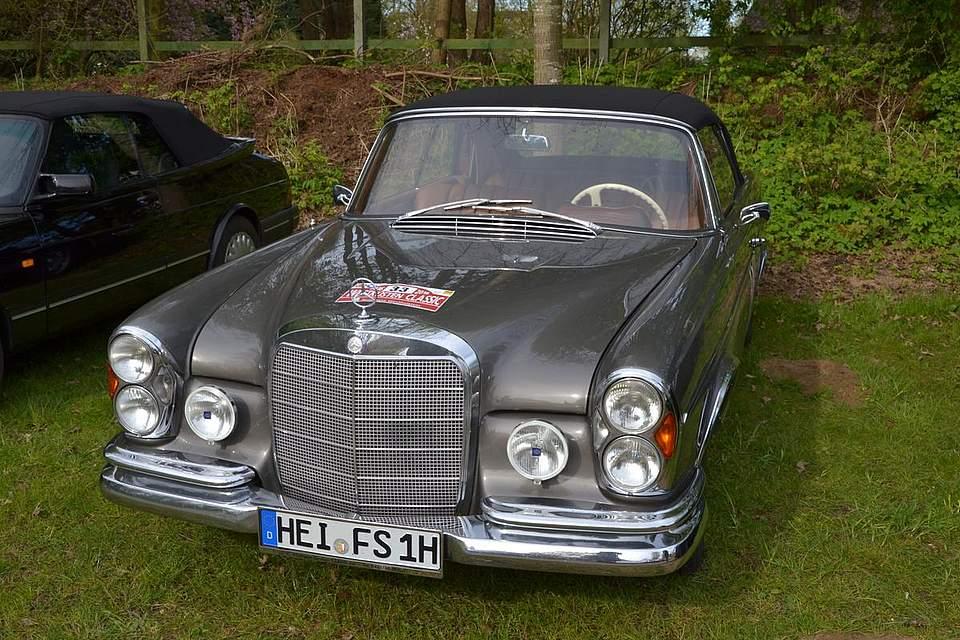 Mercedes Benz von 1967.