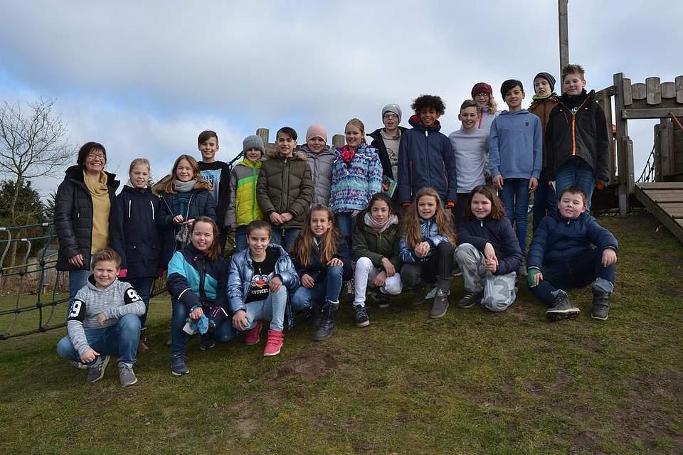 Grundschule Hemmingstedt, Außenstelle Lohe-Rickelshof Klasse 4
