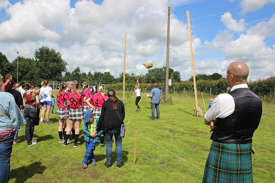 Highland-Games 2016 in Wrohm. Foto: Hajek