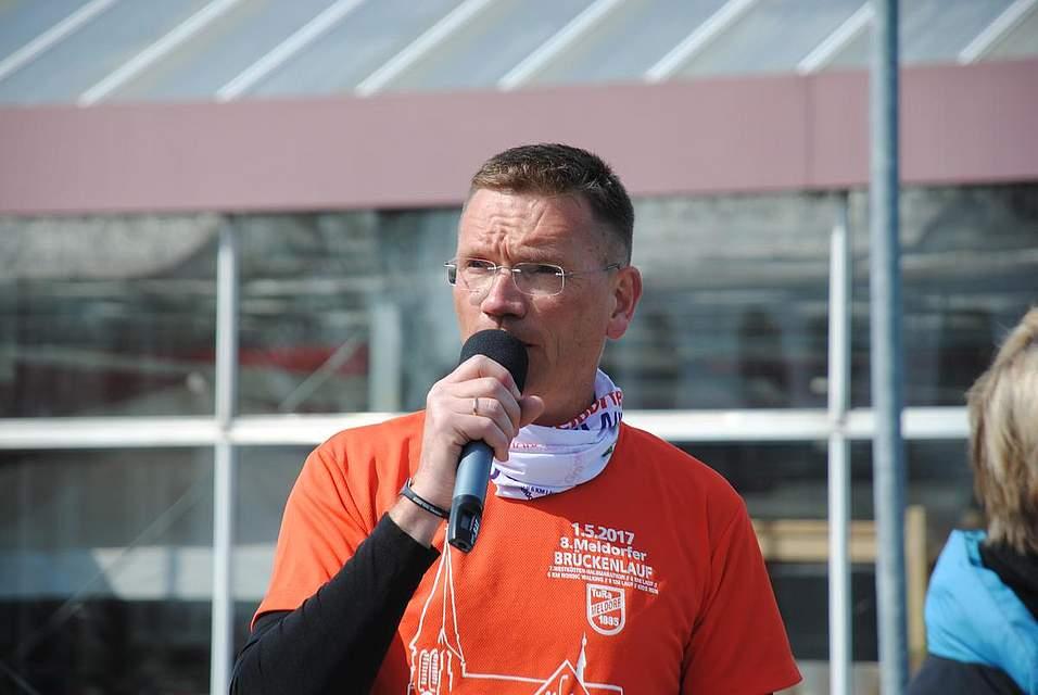 Organisator und Sprecher Lars Kleinschmidt