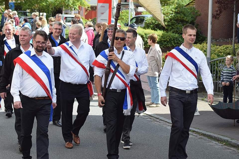 Die Mitglieder des Volksfestkomitees. Foto: Büsing