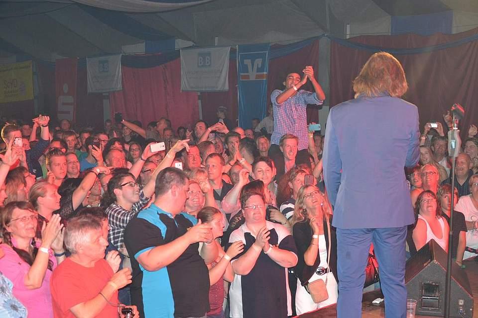 Wenn Jürgen Drews singt, bebt der Saal.