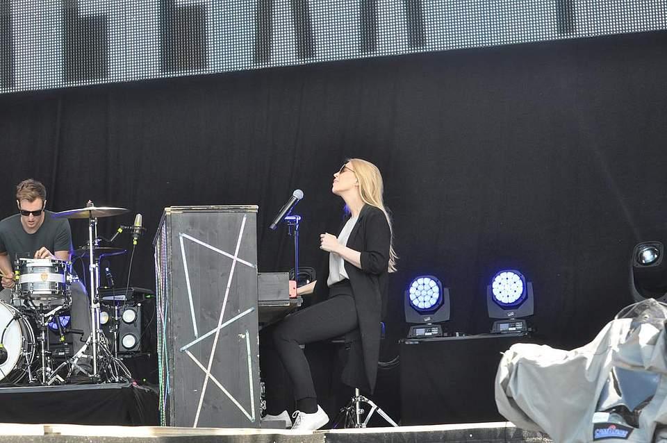 NDR2-Festival in Heide. Foto: Höfer