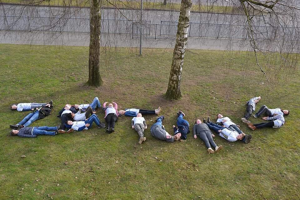 Grundschule Hennstedt, Klasse 4a.