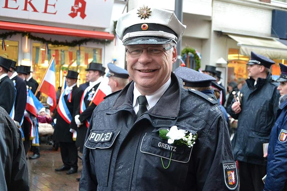 Polizeibegleitung: Frank Grentz.