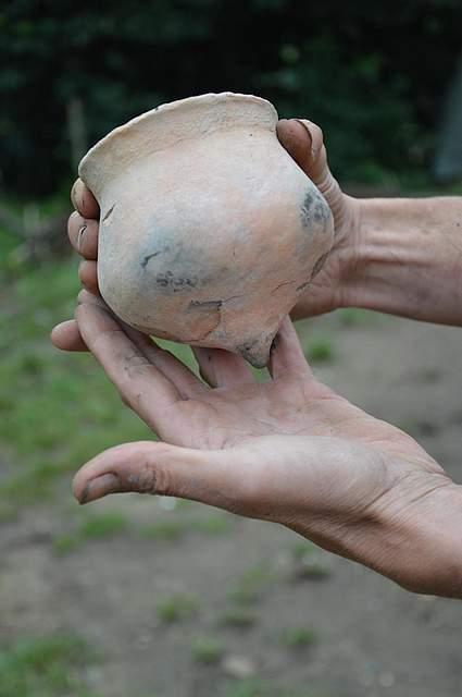 Nachbildung eines Ertebölle-Bechers. Nach ihm ist eine Steinzeit Kultur benannt.