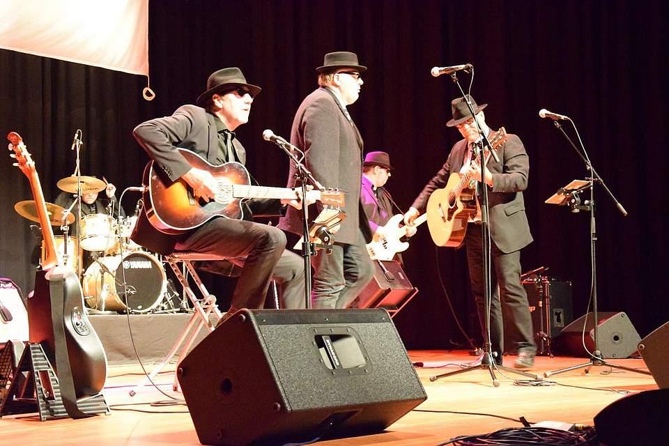 Rockte zum Abschluss: die St. Jürgen Blues Band.