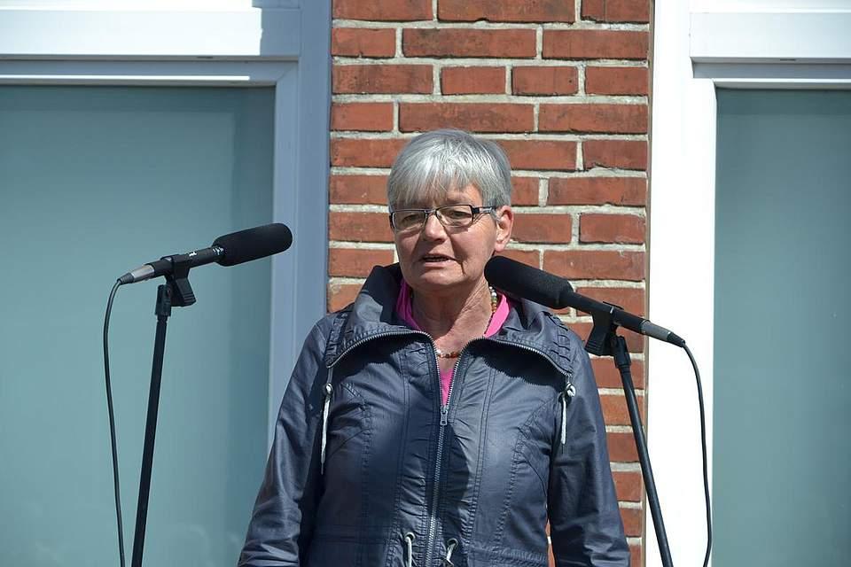Bürgervorsteherin Heike Ehlers.