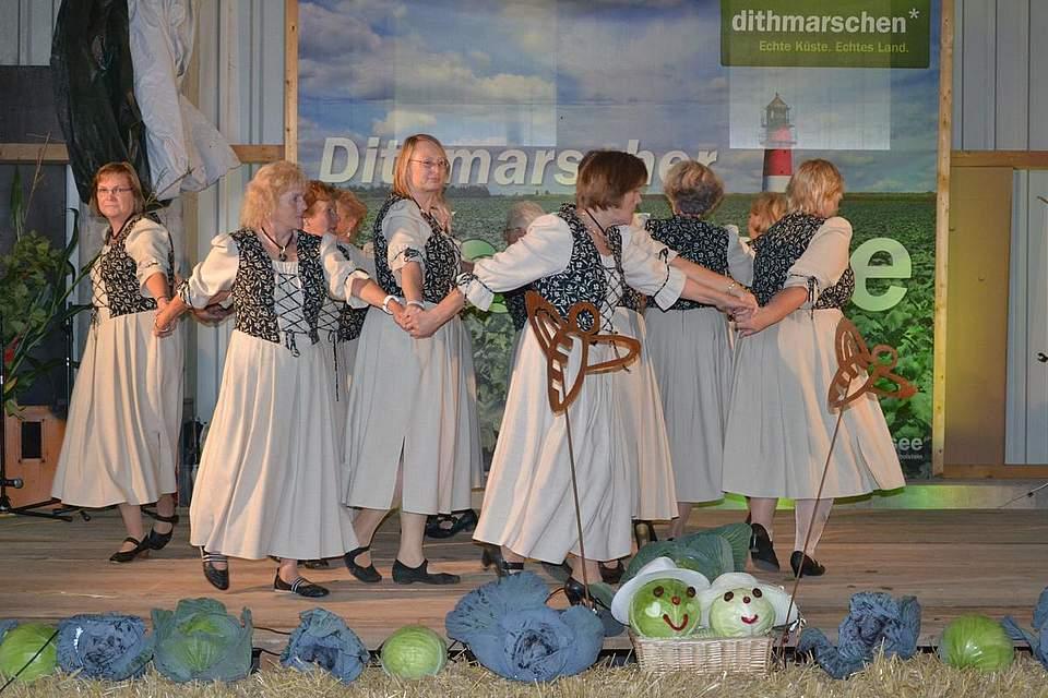 Tanzgruppe des TV Windbergen.