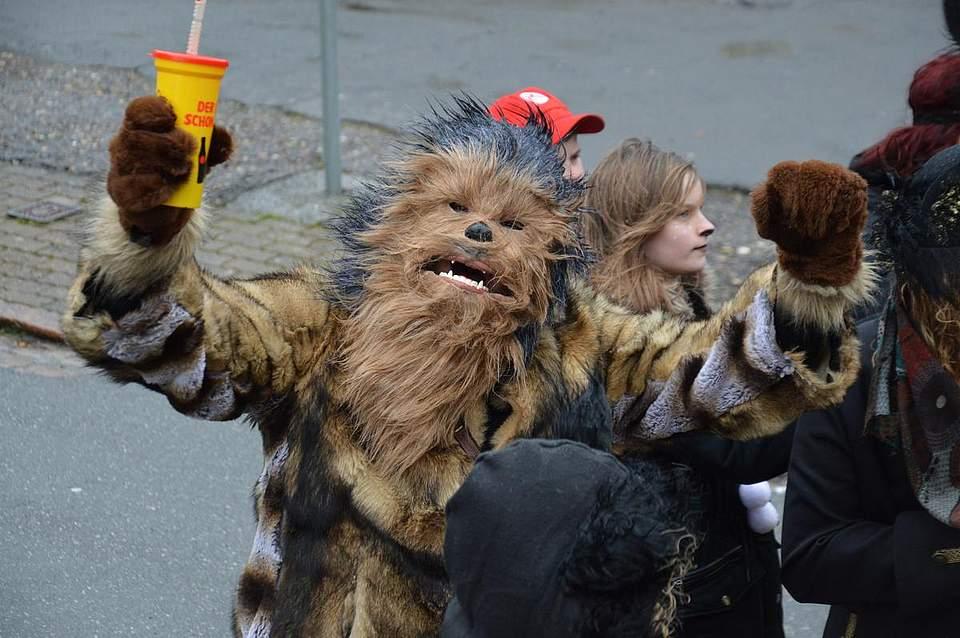 Auch Wookie Chewbacca machte einen Abstecher nach Marne.