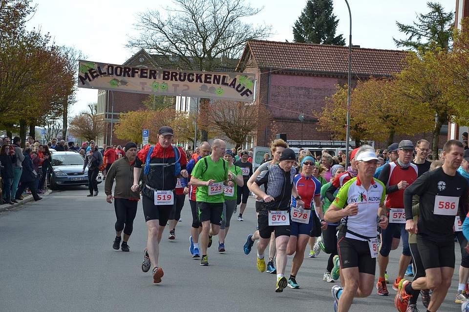 Start zum Halbmarathon.