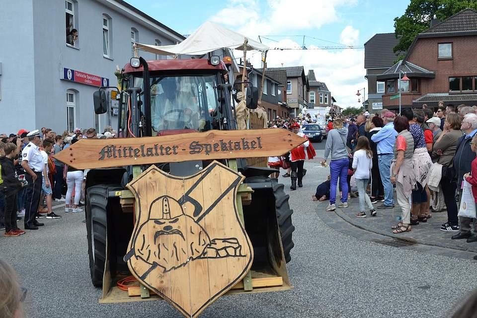 Das Mittelalter-Spektakel kommt aus Schalkholz.
