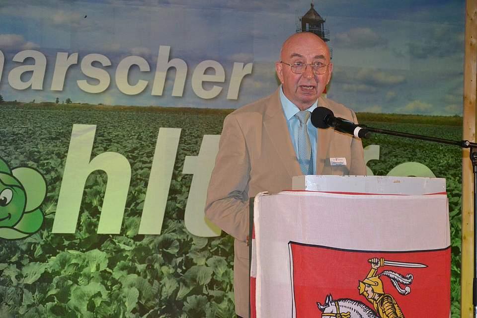 Amtsvorsteher Christian Pögel.