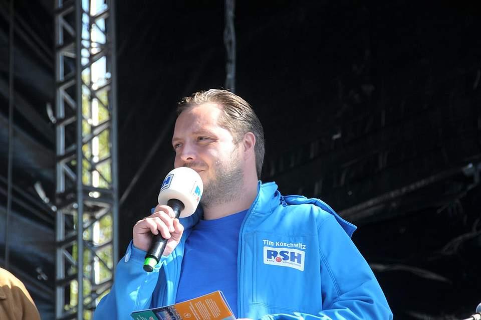 RSH-Moderator Tim Koschwitz. Foto: Voß