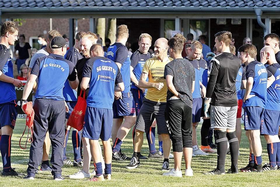 SG Geest - SV Todesfelde Bildergalerie landespokal achtelfinale