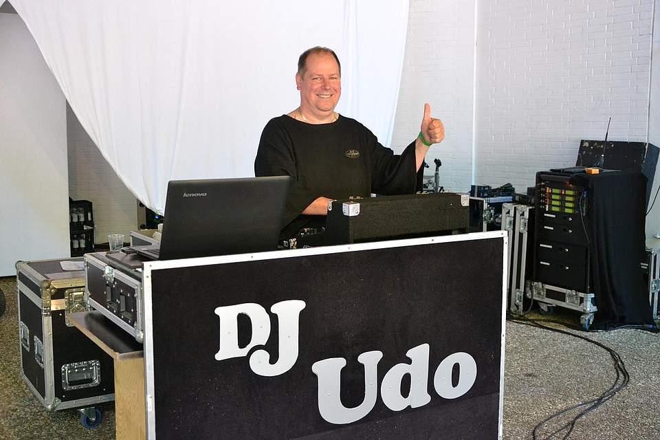 DJ Udo auf der Waldbühne.