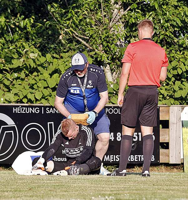 SG Geest 05 - SV Todesfelde Bildergalerie landespokal achtelfinale