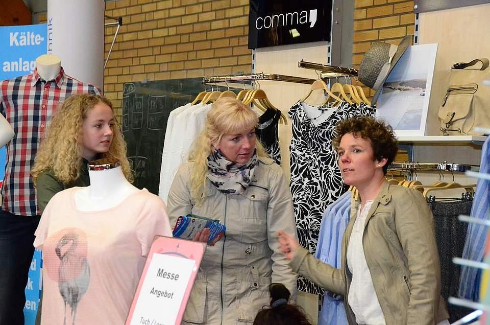 Das Ohr immer am Kunden: Katrin Gertz von KaMeRa-Moden.