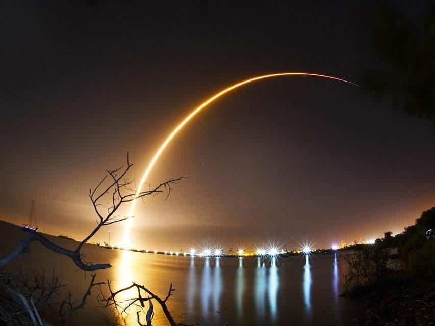 Israel hat erstmals eine Raumsonde zum Mond geschickt. Foto: Malcolm Denemark/Florida Today
