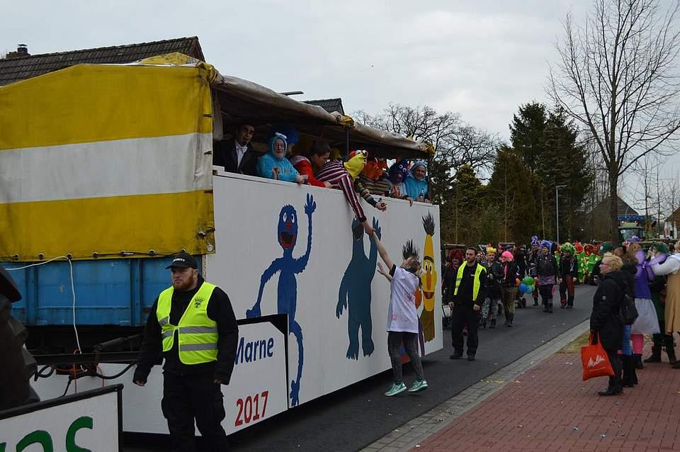 Rosenmontag Marne 2017