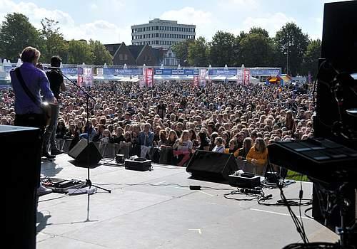 Jeden Tag Silvester vor tausenden von Fans. Foto: Voß
