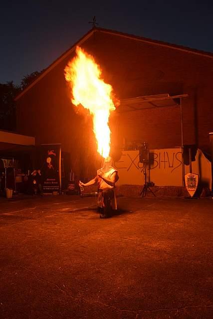Schalkholzer Mittelalter-Spektakel. Foto: Büsing