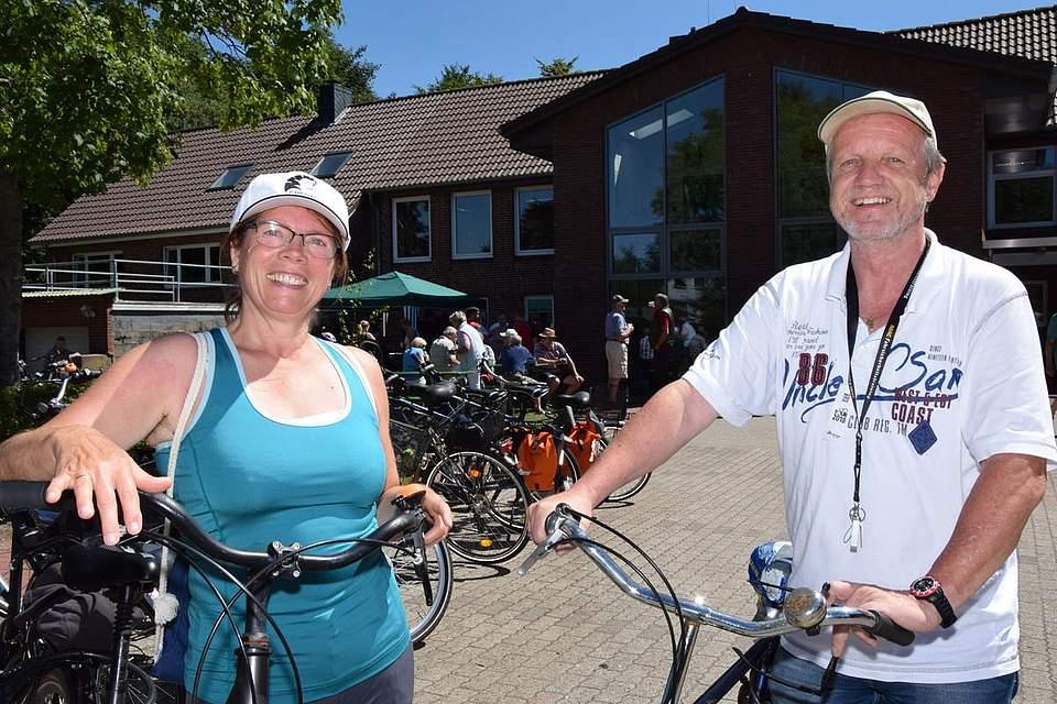 Janne und Maren Bibow sind zum zweiten Mal dabei: Sie freuen sich auf die Strecke.