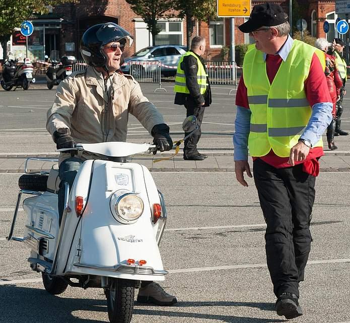 Motorradgottesdienst Heide 2016.