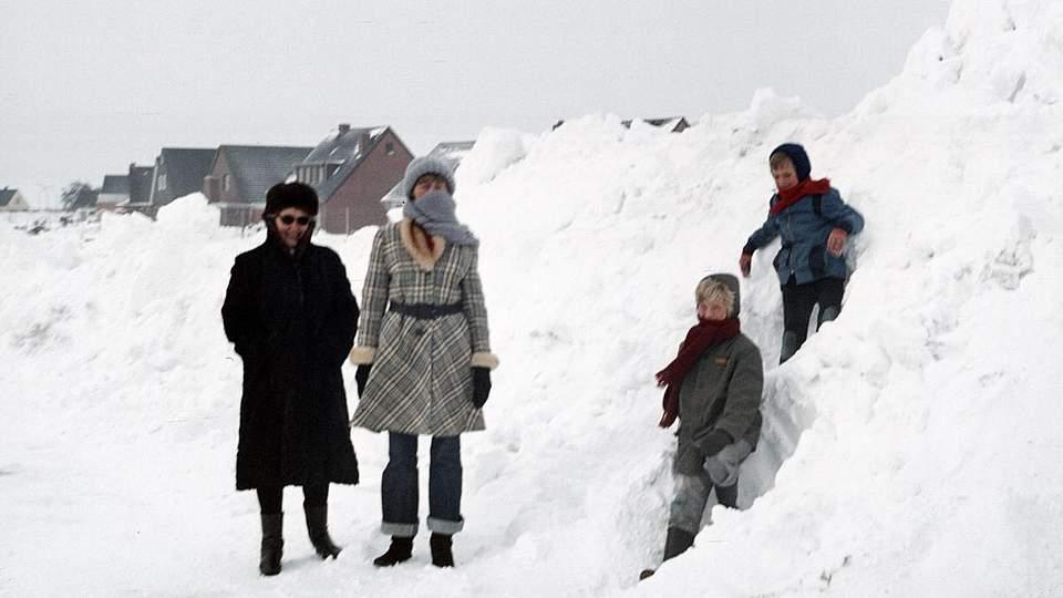 Eiszeit in Marne, eingesandt von Gunter Sintzel.